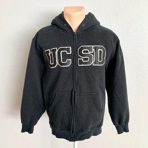 UCSD University San Diego Black Hoodie Sweater